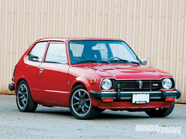 1978 Honda Civic, mine was a 4 door
