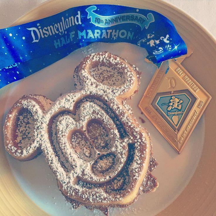 Disneyland marathon. On yes.