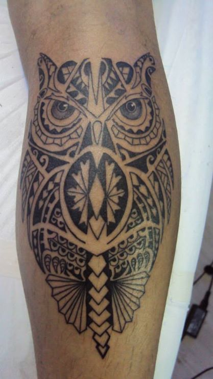 12 best images about geometric tatoo ideas on pinterest for Tribal owl tattoo