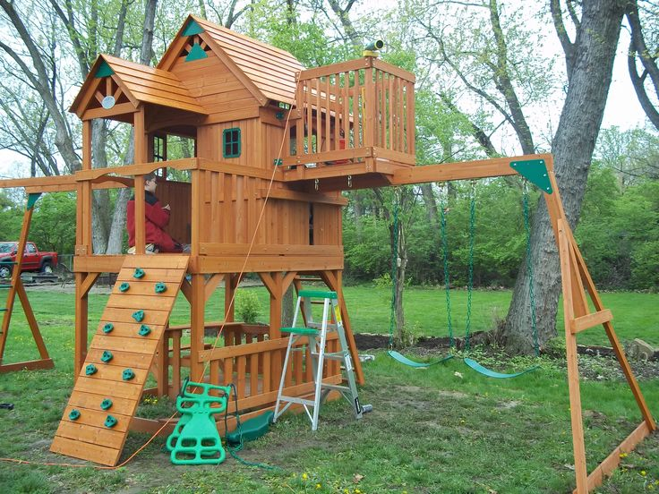 17 Best Images About Swingset Makeover On Pinterest