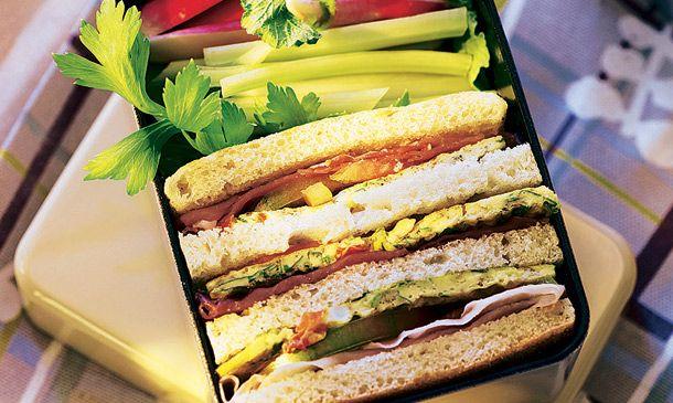 Sándwiches y bocadillos 'playeros': ¿Quién dijo monotonía