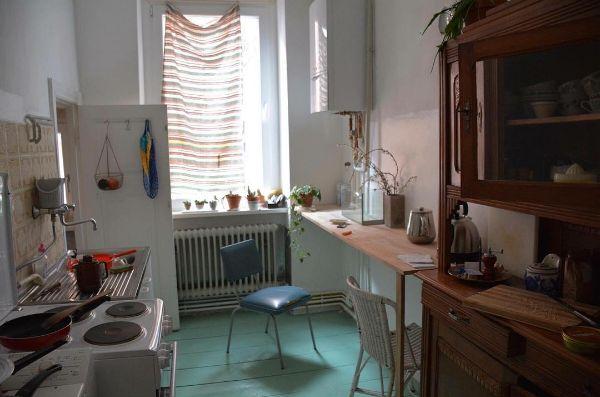 parquet cuisine peint