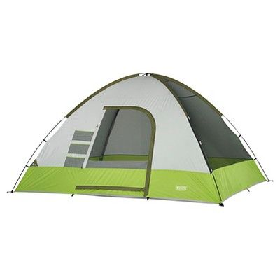 Wenzel Portico 8 Person Tent, Green