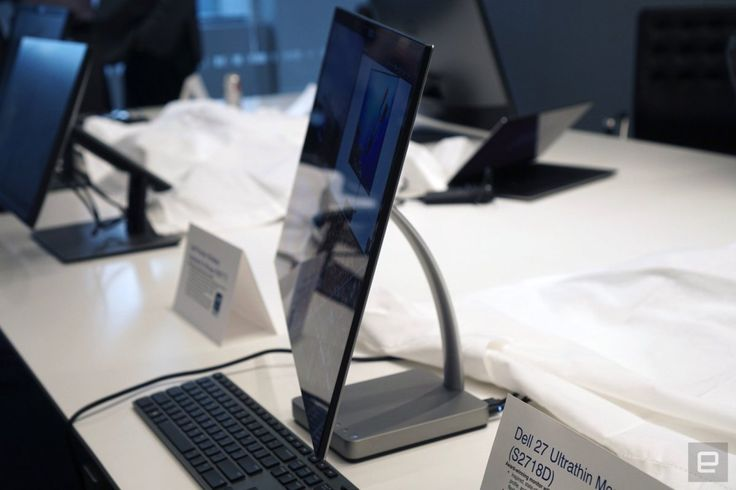 Dell announces their 27 Ultrathin Monitor at CES 2017