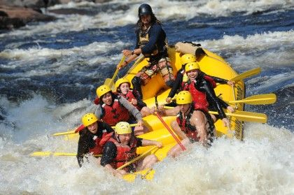 RAFTING - DONE!!!! JULY 3, 2013. Josee and I. Mother/Daughter trip. It was Fun and Scary!!