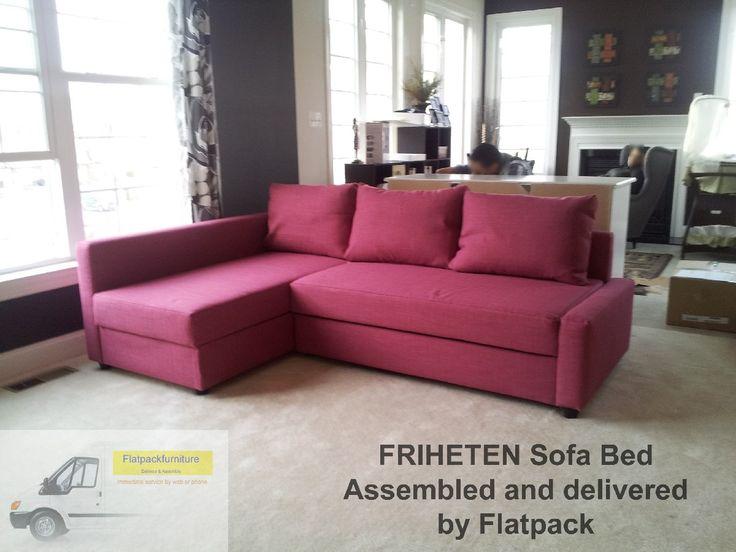 IKEA Friheten Sofa Delivered And Assembled By Flatpack In Upper Marlboro MD Flatpackservices
