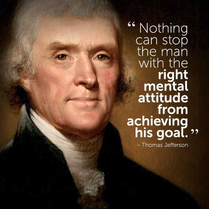 Famous Presidential Quotes: #inspirational #quote By Thomas Jefferson