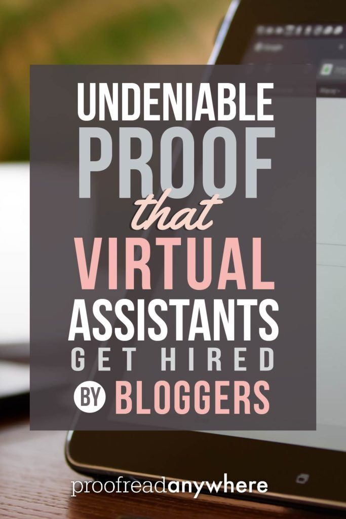 Looking to work at home? This post proves that bloggers are in need of people with mad skills: virtual assistants!