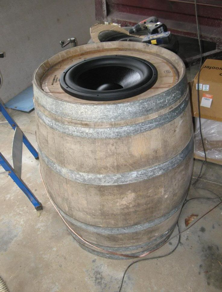 speakers in barrel - Google zoeken