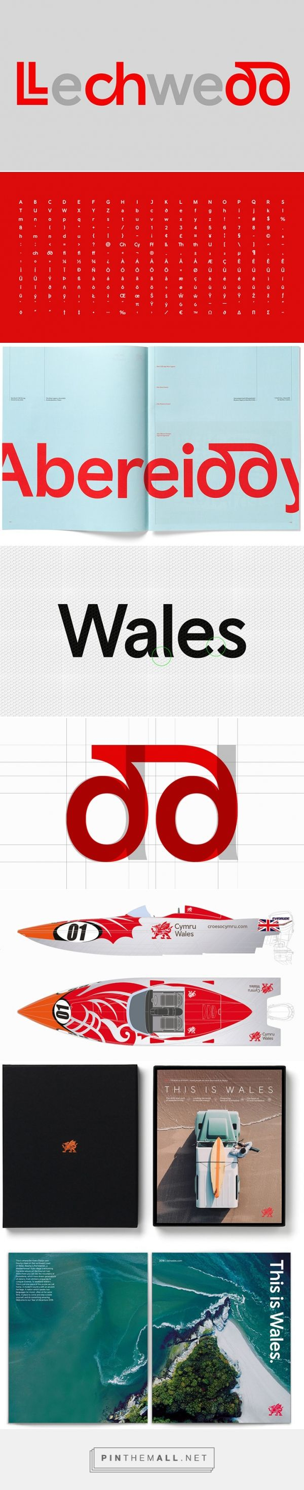 It's Nice That | A new national identity: Smörgåsbord Studio rebrands Wales - created via https://pinthemall.net