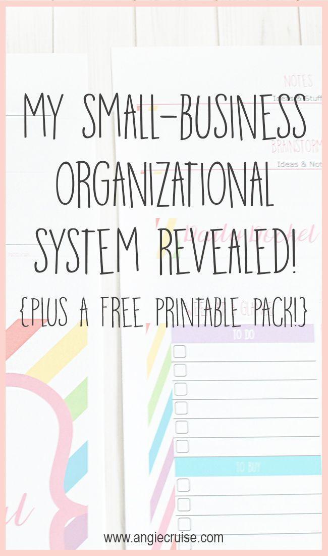 My Small Business Organization System Social Media Small