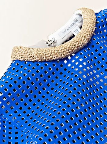 Perforated leather from JW Anderson