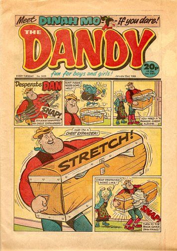 The Dandy. Best comic ever, especially when they gave free lollipops
