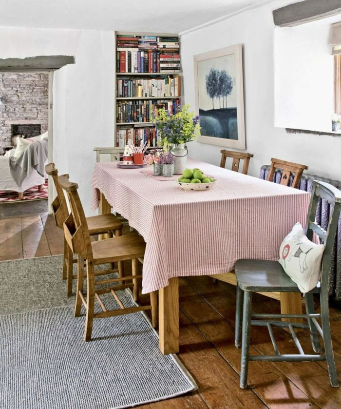 ▷ 1001 + ideas sobre cómo decorar un salón comedor | Salones ...