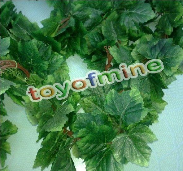 "95"" Lifelike Artificial Ivy Leaf Fake Foliage Garland Plants Vine Home Decorate #UnbrandedGeneric"