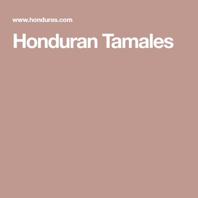 Honduran Tamales