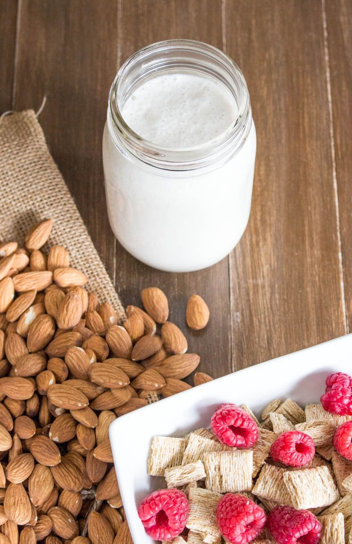 How to Make THICK Almond Milk. Might take a little longer but will be totally worth it!