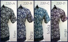 PUSPA BATIK 220A/B/C/D | www.gloryfashion.net