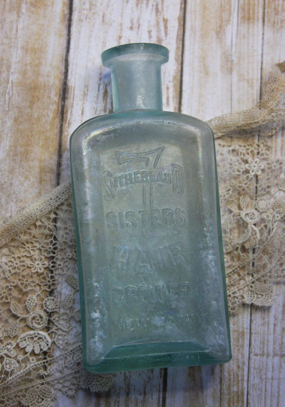 Sutherland 7 Sisters HAIR GROWER Bottle Rare by VintageSupplyCo
