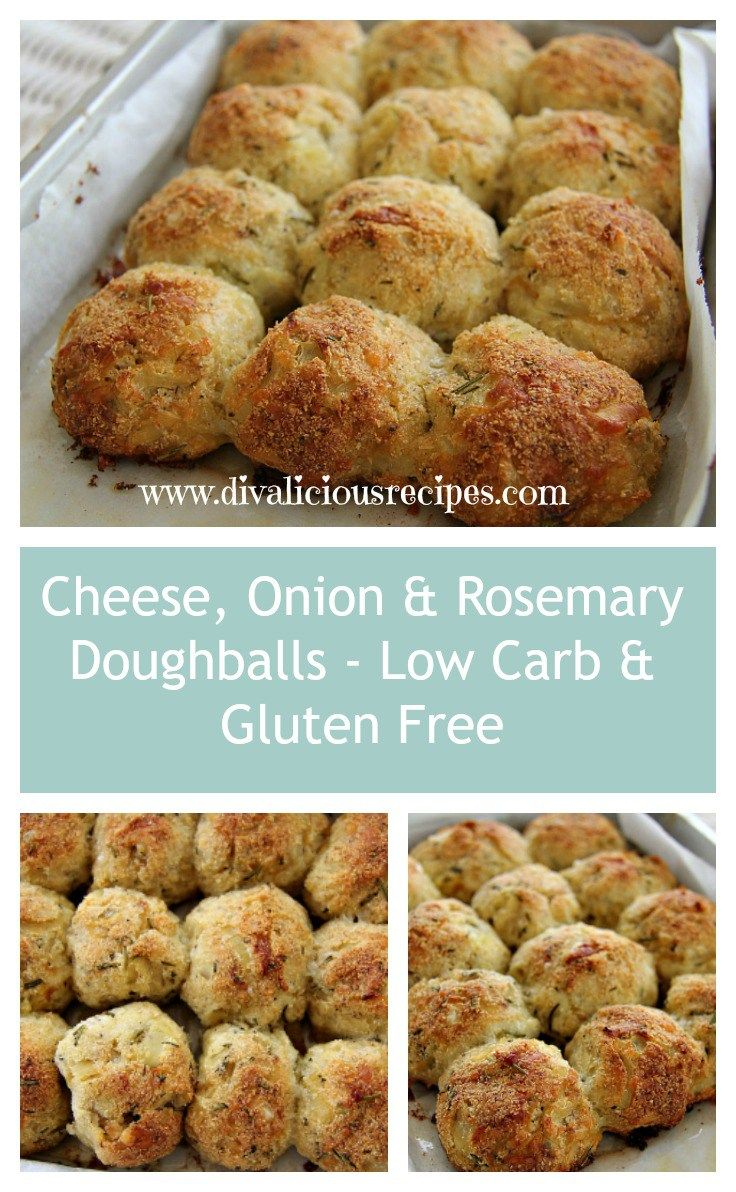 This low carb and gluten free coconut flour dough ball recipe is simply delicious and a great flavour combination of Gruyère cheese, caramelized onion and rosemary. This dough ball recipe came abo…