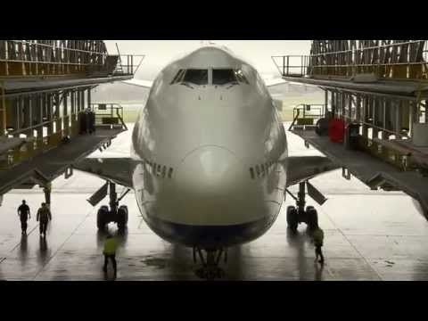 1000 ideas about boeing 747 400 planes commercial british airways boeing 747 400 in d check 747 like you have never