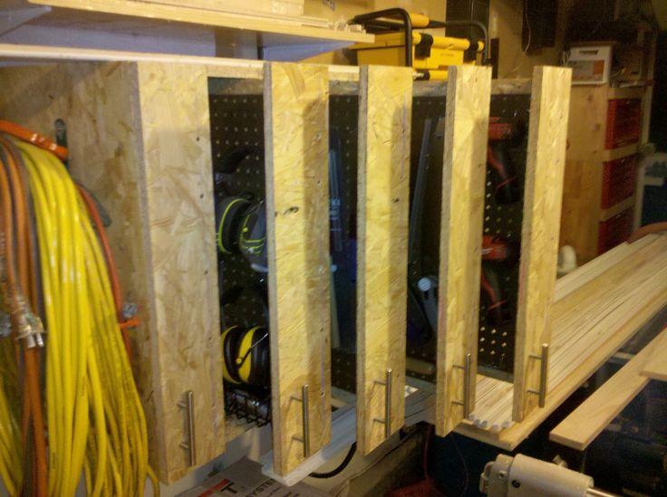 Sliding Storage Cabinet It Has Five 5 Slide Out