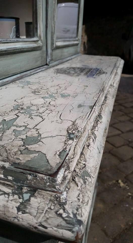 97 Best Crackle Paint Furniture Images On Pinterest