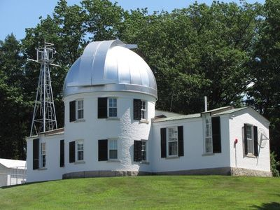 Shattuck Observatory at Dartmouth College open to the public on certain nights for viewing, check the @Valley News for dates and times #stars #telescope #uppervalley