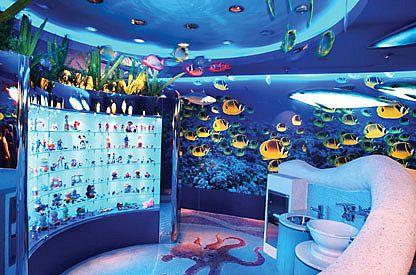 Under the sea bathroom theme popsugar social under the for Under the sea bathroom ideas