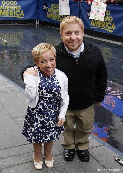Jen Arnold and Bill Klein GMA - The Little Couple 2014 What was The Little Couple's Bill Klein's back surgery for? How is he doing now?