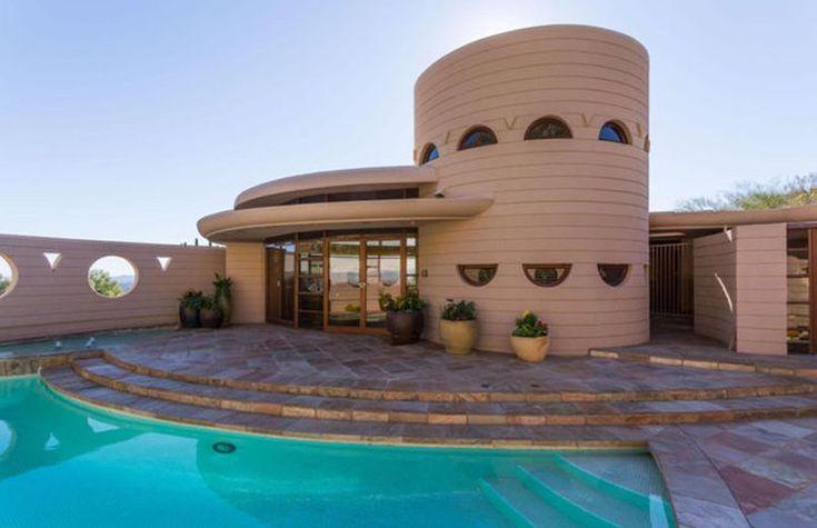 Norman Lykes house - Franck Lloyd Wright - 1959 - 69 - Phoenix - Le Figaro immobilier mars 2016 - photo 02