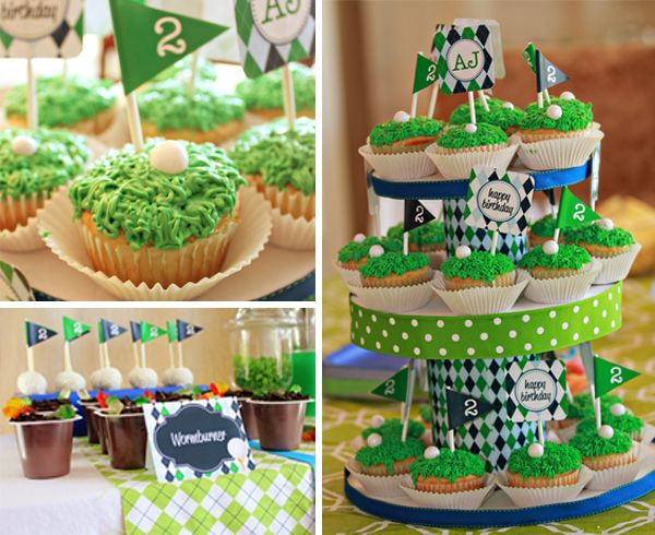 Little Golf Pro Party: The Cupcakes