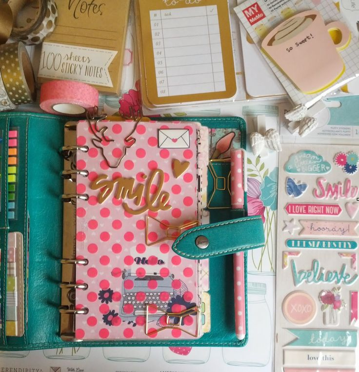 Pretty Things: Filofax Zubehör: Dashboard