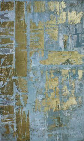 Beautiful metallic foil wall finish inspiration. Segreto - Houston TX - Leslie-Sinclair