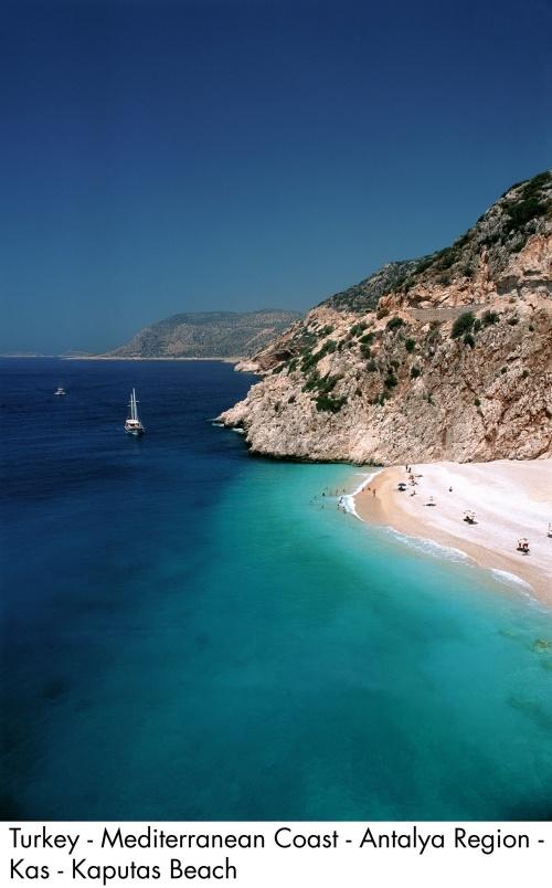 Turkey / Antalya Kaputas Beach...