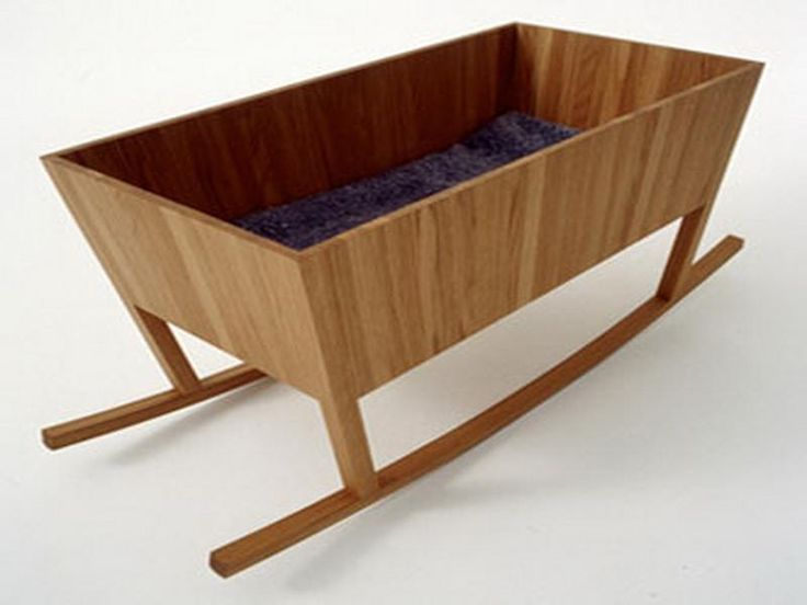 Home Design and Interior Design Gallery of Modern Wooden Cradle For Baby