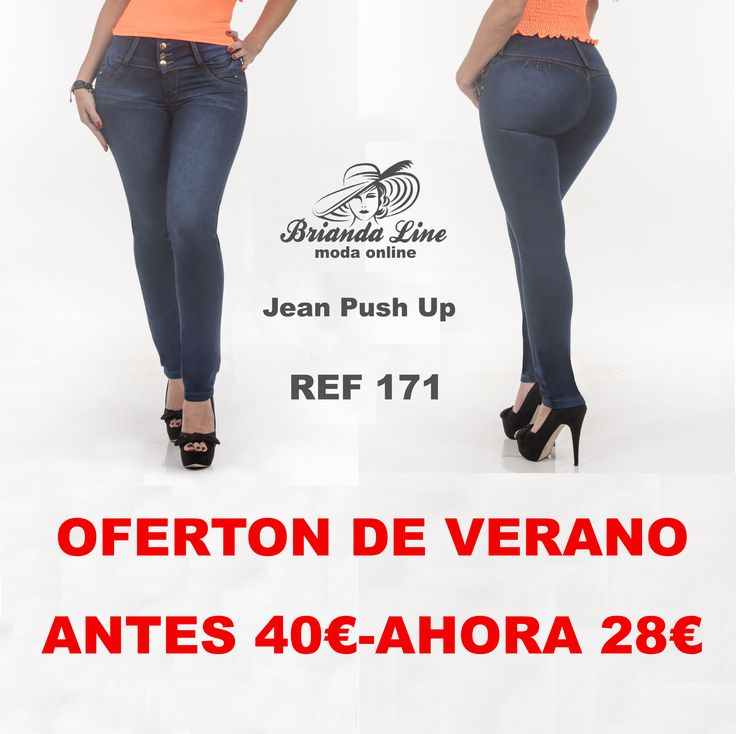Vaquero Push Up. Ref. 171 😍❤  28€ Jean levantacola 100% colombiano. Marca Wasser. Color Verde Oscuro. Bota tubo(pitillo) Tiro medio. Tres botones. Sin Bolsillos. Tela Stretch. Tallas 6 (34 ), 8 (36),10 (38), 12 (40), 14 (42)    LLámanos!! ☎ 686293801 #nosencantaelverano #jeanscolombianos #jeanspushup #briandalinemoda