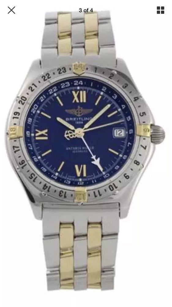 Breitling Antares Watch Rare And Boxed Mens Fashion In 2019