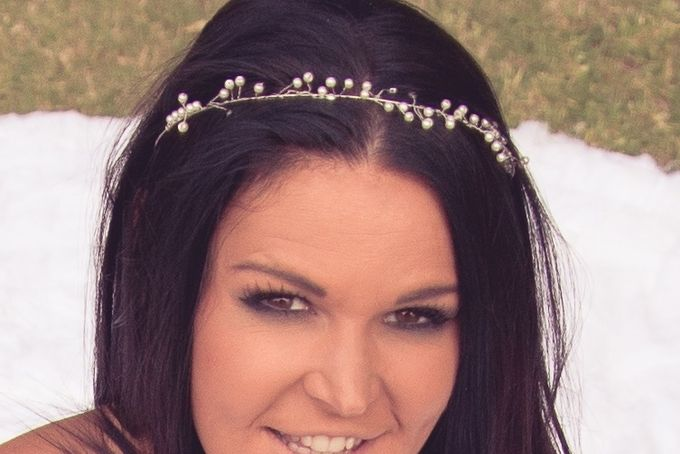 Pearl Vine Hairband by Jewels and Lace on http://hellopretty.co.za