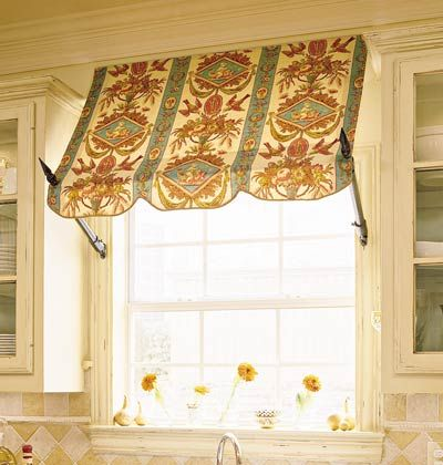 Awning Window Treatment Window Dressings Pinterest