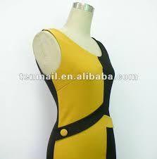 Resultado de imagen de vestidos combinados