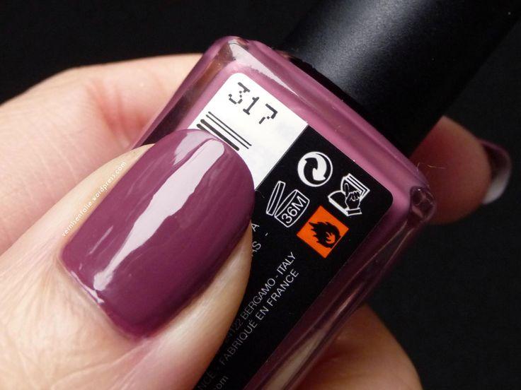Vernis KIKO # 317 Dark Antique Pink