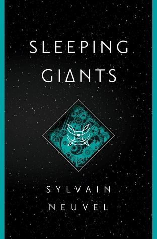 """Sleeping Giants by Sylvain Neuvel.  Release Date:  4/26/2016 Genre:  Fiction, Science Fiction.  Rating:  4 """"We Are Not Alone Stars""""  For book synopsis and/or review, please visit my website http://blendysreadit.wix.com/thebooknerdist"""