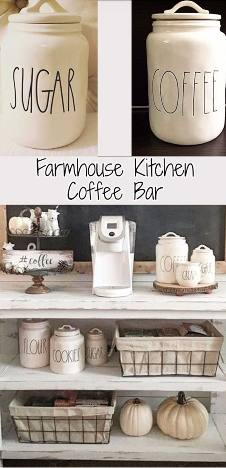 342 best Coffee Bar Ideas • DIY Home Coffee Bars images on Pinterest ...