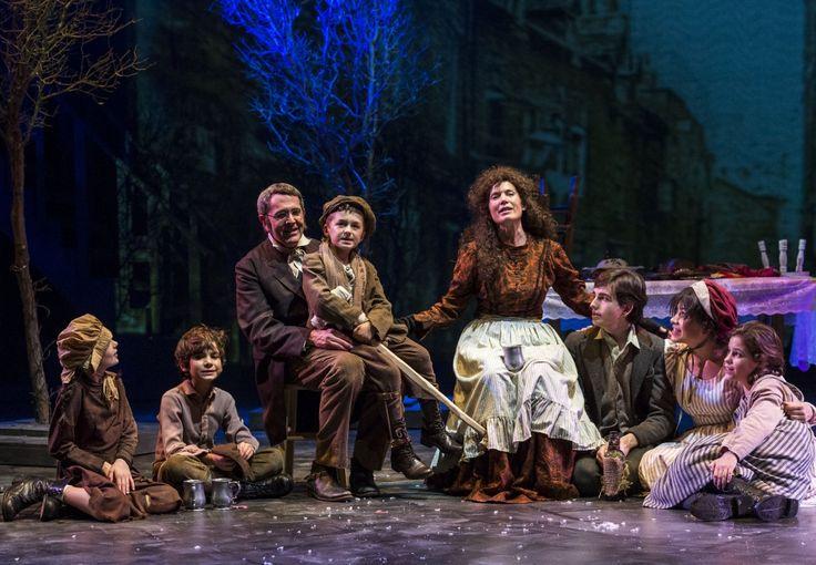London production A Christmas Carol photos | The Cast of A Christmas Carol