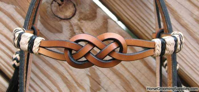 Celtic knot in the brow band