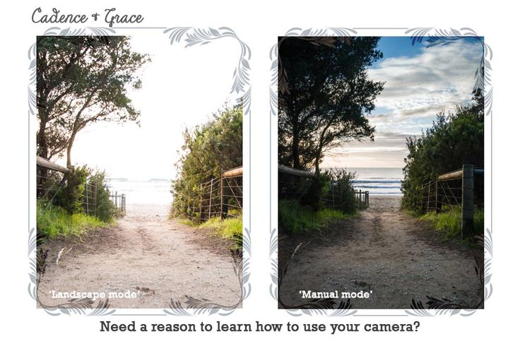 Wondering why you should learn to shoot in manual mode?