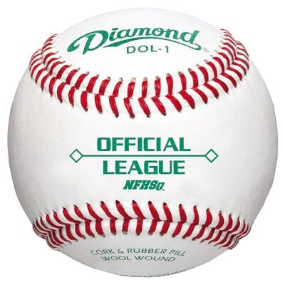 Image of Diamond DOL-1 NFHS Official League Baseballs