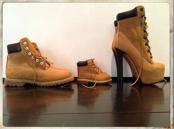 High Heel Timberland Boots Beyonce | Don't Call it a Comeback: Timberland Boot Heels. Super CUTE tho!