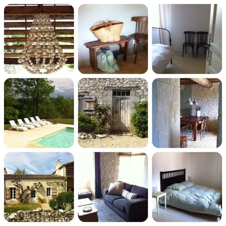 Le Mayne de Boulède, Home(s)made with love: 5 Vakantiehuizen 2 zwembaden in privegehuchtje tussen Lot en Dordogne www.boulede.com